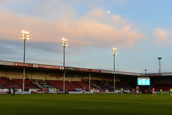 A general view of the Bescot Stadium as Walsall play Brighton in the Capital One Cup - Mandatory byline: Dougie Allward/JMP - 07966386802 - 25/08/2015 - FOOTBALL - Bescot Stadium -Walsall,England - Walsall v Brighton - Capital One Cup - Second Round