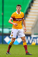 Barry Maguire (#15) of Motherwell FC during the SPFL Premiership match between Hibernian FC and Motherwell FC at Easter Road, Edinburgh, Scotland on 27 February 2021.