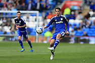Peter Whittingham of Cardiff city in action.  Skybet football league championship match, Cardiff city v Bolton Wanderers at the Cardiff city Stadium in Cardiff, South Wales on Saturday 23rd April 2016.<br /> pic by Andrew Orchard, Andrew Orchard sports photography.