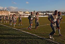 Jogadores da Seleção Brasileira de Futebol durante treino no C T do Corinthians, em São Paulo. FOTO: Jefferson Bernardes/Preview.com