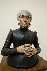 Bust of Anna Imhoff from 1580 at Bode Museum in Berlin, Germany
