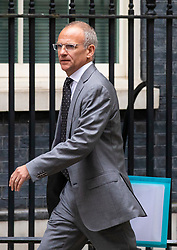 © Licensed to London News Pictures. 04/06/2018. London, UK. Tesco CEO Dave Lewis arrives on Downing Street for a meeting of business leaders with Prime Minister Theresa May, The Chancellor of The Exchequer Philip Hammond, Secretary of State for International Trade Liam Fox and Secretary of State for Exiting the European Union David Davis. Photo credit: Rob Pinney/LNP