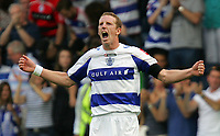 QPR FC vs Blackpool FC Championship 08/08/09<br /> Photo Nicky Hayes/Fotosports International<br /> Peter Ramage of QPR celebrates his equalising goal.