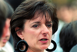 Rosa Monckton, one of the best friends of the late Princess Diana, at the opening of the Diana, Princess of Wales, memorial garden, in Hyde Park, London.
