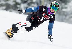 Anke Karstens of Germany during FIS Snowboard World Cup Rogla 2013 in Parallel Giant slalom, on February 8, 2013 in Rogla, Slovenia. (Photo By Vid Ponikvar / Sportida.com)