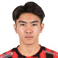 Thai League Headshots with ID