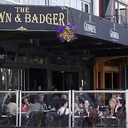 Bars and restaurants on The Strand, on The Strand, Tauranga, New Zealand,, 3rd December 2010 Photo Tim Clayton.