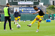 Jake Jervis (10) of AFC Wimbledon warming up before the EFL Sky Bet League 1 match between Plymouth Argyle and AFC Wimbledon at Home Park, Plymouth, England on 6 October 2018.