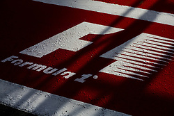 August 24, 2017 - Spa, Belgium - Formula 1 logo during the Formula One Belgian Grand Prix at Circuit de Spa-Francorchamps on August 24, 2017 in Spa, Belgium. (Credit Image: © Xavier Bonilla/NurPhoto via ZUMA Press)