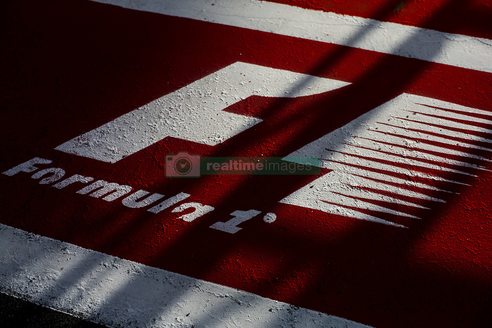 August 24, 2017 - Spa, Belgium - Formula 1 logo during the Formula One Belgian Grand Prix at Circuit de Spa-Francorchamps on August 24, 2017 in Spa, Belgium. (Credit Image: © Xavier Bonilla/NurPhoto via ZUMA Press)