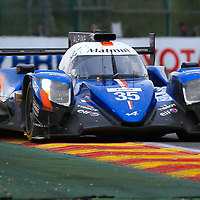 #35, Signatech Alpine Matmut Alpine A470 Gibson, driven by, Pierre Ragues, Andre Negrao, Nelson Panciatici, FIA WEC 6hrs of Spa 2017, 06/05/2017,