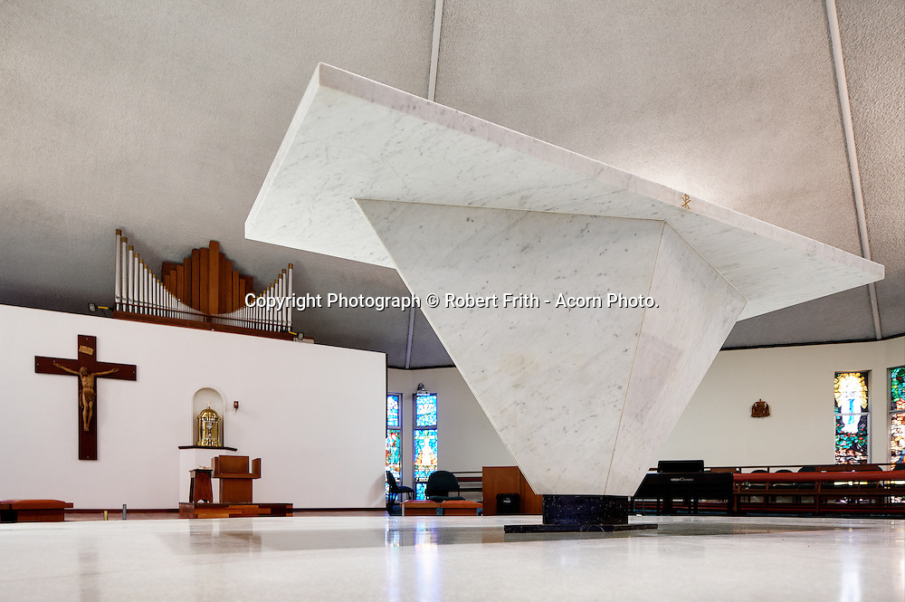 Our Lady of Lourdes Chirch<br /> Flinders St Nollamara<br /> Ray Jones Architect