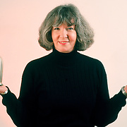 Executive portrait, Sue Grafton, one of the nation's most financially successful authors who writes murder mysteries with titles that begin with letters.<br /> <br /> Please contact legal@ToddBigelowPhotography.com with your licensing inquiry.