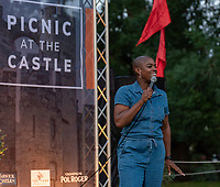 thanyia moore at the picnic at the castle,Warwick Castle photo by Mark anton Smith