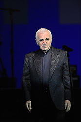 Charles Aznavour performs during a show celebrating the opening of a 'France in Brazil' year in Rio de Janeiro, Brazil, on December 22, 2008. Photo by Mousse/ABACAPRESS.COM