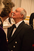 KATE MAVOR; SIR KENNETH CALMAN, The National Trust for Scotland Mansion House Dinner. Mansion House, London. 16 October 2013