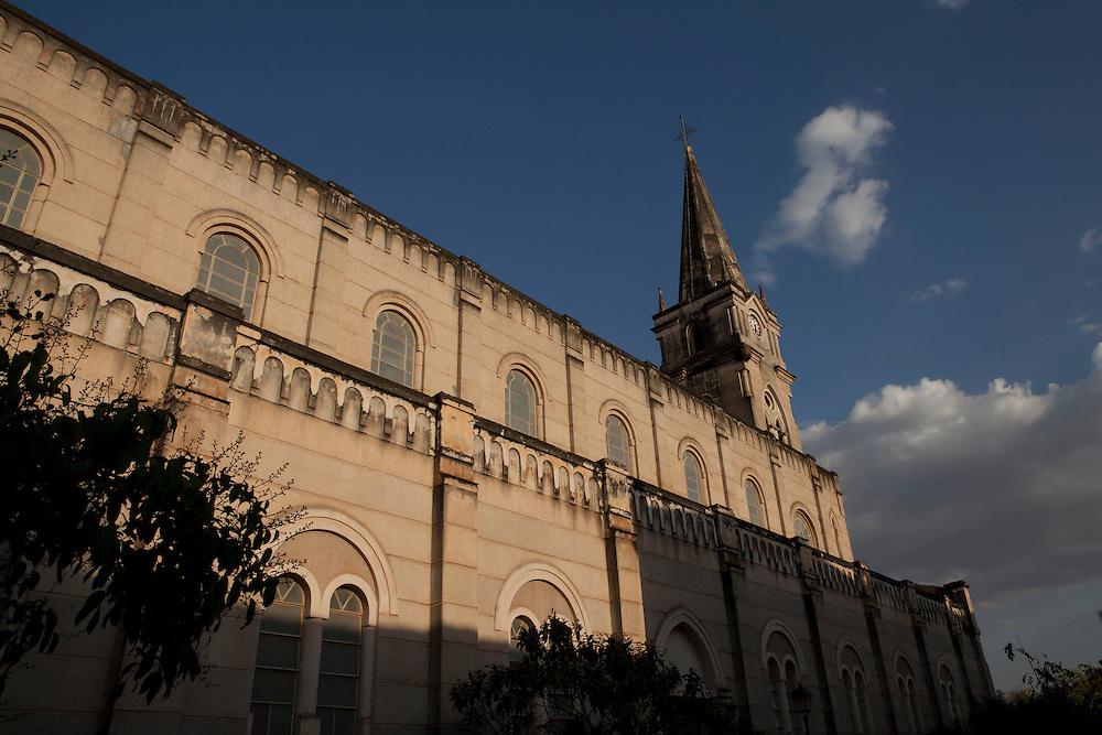 Goias Velho_GO, Brasil.<br /> <br /> Imagens da cidade de Goias Velho em Goias. Na foto, a Igreja do Rosario.<br /> <br /> Goias Velho in Goias. In this photo Rosario church.<br /> <br /> Foto: ALEXANDRE BAXTER / NITRO