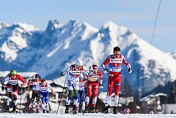 February 24, 2019 - Seefeld In Tirol, AUSTRIA - 190224 Oskar Svensson of Sweden and Emil Iversen of Norway competes in men's team sprint semi final during the FIS Nordic World Ski Championships on February 24, 2019 in Seefeld in Tirol..Photo: Joel Marklund / BILDBYRN / kod JM / 87889 (Credit Image: © Joel Marklund/Bildbyran via ZUMA Press)