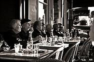 Café Flore en L'isle, in Paris, France.