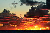Pacific Ocean Sunrise Panorama viewed from the aft deck of the MV World Odyssey. Image 10 of 20 taken with a Nikon 1 V3 camera and 70-300 mm VR lens (ISO 200, 82 mm, f/8, 1/250 sec). Raw images processed with Capture One Pro and the panorama created using AutoPano Giga Pro.