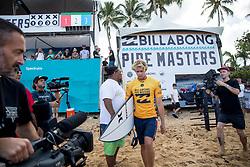 December 11, 2017 - Haleiwa, Hawaii, U.S. - John John Florence of Hawaii ready for round one heat 6 of the 2017 WSL Billabong Pipe Masters at Pipeline, Oahu, Hawaii, USA..Billabong Pipe Masters 2017. (WSL via ZUMA Wire/ZUMAPRESS.com)