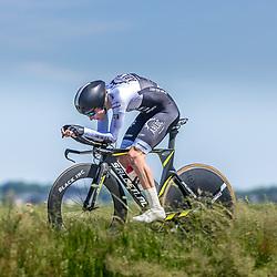 EMMEN (NED) June 16: <br />CYCLING <br />Dutch Nationals Time Trail men U23<br />Meindert Weulink