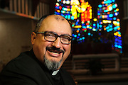 Rev. Miguel Alvarez, c.s. is Pastor at Our Lady of Mount Carmel in Melrose Park, Il. March 1st, 2014 l Brian J. Morowczynski-ViaPhotos<br /> <br /> For use in a single edition of Catholic New World Publications, Archdiocese of Chicago. Further use and/or distribution may be negotiated separately. <br /> <br /> Contact ViaPhotos at 708-602-0449 or email brian@viaphotos.com.
