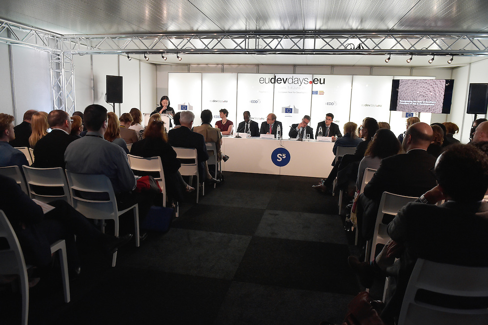 03 June 2015 - Belgium - Brussels - European Development Days - EDD - Financing - Recognising the role of Southern providers of aid in development © European Union