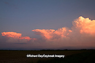 63891-02518 Storm clouds at sunset, Marion Co., IL
