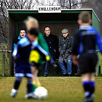 The Netherlands, Oost-Knollendam, 13-03-2004.<br /> Football, Pupillen-F.<br /> Time : 11.20 uur.<br /> Photo: Klaas Jan van der Weij.