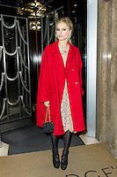 Laura Bailey, Claridge's Christmas Tree - party, Claridge's Hotel, London UK, 26 November 2013, Photo by Raimondas Kazenas