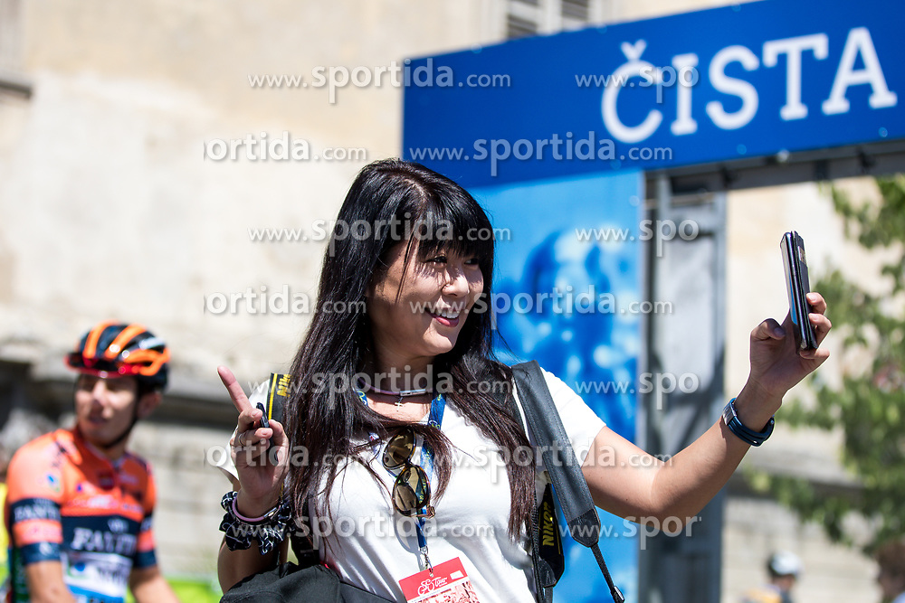 Photographer Miwa Iijima during 2nd Stage of 26th Tour of Slovenia 2019 cycling race between Maribor and Celje (146,3 km), on June 20, 2019 in Slovenia.. Photo by Matic Klansek Velej / Sportida