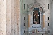 Interior of the Cathedral of Cartagena de Indias