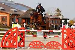 11, Springprfg. Kl. M** -Große Tour, Ehlersdorf, Reitanlage Jörg Naeve, 29.04. - 02.05.2021,, Andre Thieme (GER), Conacco,
