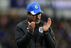 26th November 2017 - Premier League - Huddersfield Town v Manchester City - Huddersfield manager David Wagner applauds his team's efforts - Photo: Simon Stacpoole / Offside.