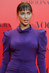 Irina Shayk attends the VOGUE Spain 30th anniversary party at La Casa de Velazquez in Madrid, Spain on July 12, 2018. Photo by Archie Andrews/ABACAPRESS.COM