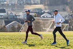 Reebok Boston Track Club<br /> home base training<br /> Domanic, Rogers