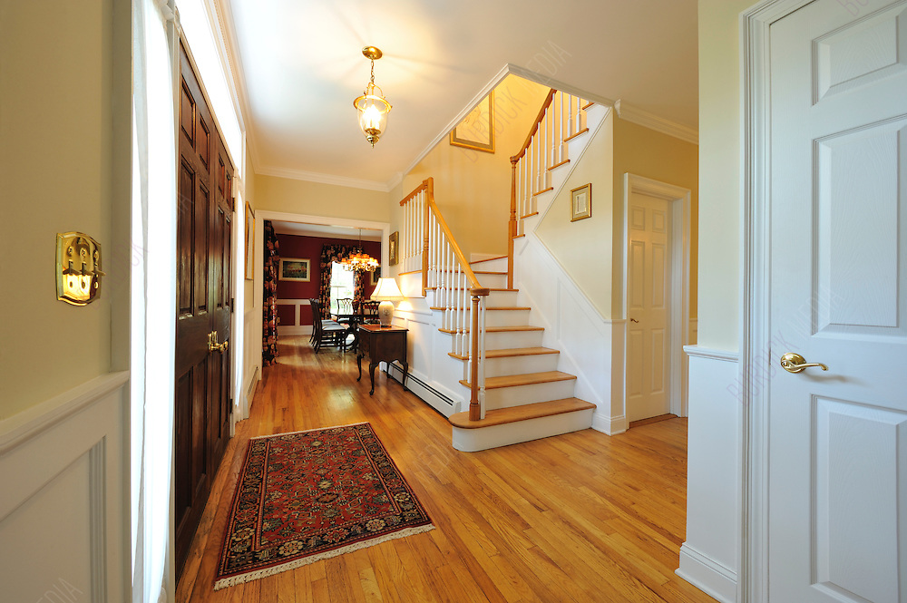 Carol Cook's Front Hall