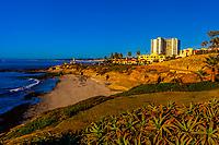 A beach in La Jolla (San Diego), California USA.