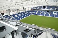 PORTO-09 DEZEMBRO:PRESS STAND (Bancada de imprensa) do Est‡dio do Drag‹o, que alberga a equipa do F.C.Porto e o EURO 2004, 09/12/03  no est‡dio do Drag‹o.<br />(PHOTO BY: AFCD/JOSƒ GAGEIRO)