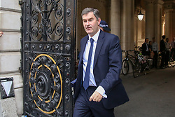 © Licensed to London News Pictures. 14/11/2018. London, UK. David Gauke - Justice Secretary arrives in Downing Street to attend a Brexit Cabinet Meeting. Ministers will discuss, agree and vote on Brexit deal. Photo credit: Dinendra Haria/LNP