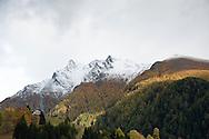 Hiking on the Alpe Adria Trail near Mallnitz, Carinthia, Austria (October 2015) © Rudolf Abraham