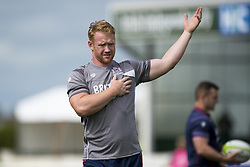 August 26, 2017 - Galway, Ireland - Will Hurrell of Bristol during the Pre-Season Friendly match between Connacht Rugby and Bristol Rugby at the Sportsground in Galway, Ireland on August 26, 2017  (Credit Image: © Andrew Surma/NurPhoto via ZUMA Press)