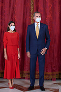 091621 Spanish Royals host lunch for Colombian President, Ivan Duque