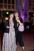 SUSAN BOYNTON; PHILLIPA PERRY, Grayson Perry 50th birthday party. Finsbury Town Hall. London. 26 March 2010