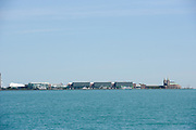 The Navy Pier along Lake Michigan in Chicago, Illinois.<br /> Photo by Mark Black
