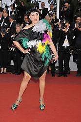 May 17, 2019 - Cannes, France, France - 72nd Cannes Film Festival 2019, Red carpet film Dolor y Gloria .Pictured Rossy De Palma (Credit Image: © Camilla Morandi/IPA via ZUMA Press)