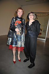GRAYSON PERRY and his wife PHILLIPA at the Montblanc de la Culture Arts Patronage Award 2009 held at the Tate Modern, Bankside, London SE1 on 16th April 2009.