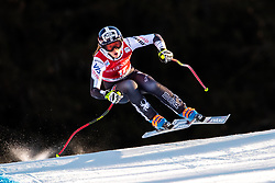 18.12.2018, Saslong, St. Christina, ITA, FIS Weltcup Ski Alpin, Abfahrt, Damen, im Bild Laurenne Ross (USA) // Laurenne Ross of the USA in action during her run in the ladie's Downhill of FIS ski alpine world cup at the Saslong in St. Christina, Italy on 2018/12/18. EXPA Pictures © 2018, PhotoCredit: EXPA/ Johann Groder