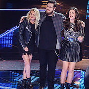 NLD/Hilversum/20160129 - Finale The Voice of Holland 2016, Maan winnares the Voice
